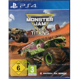 Monster Jam Steel Titans -...