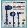 HONOR - Monster N-Tune 200 - In-Ear Kopfhörer - blau - Neu / OVP