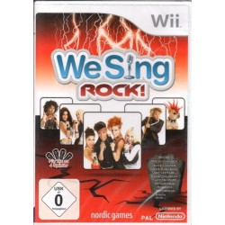 We Sing Rock - Nintendo Wii...