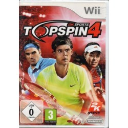 Top Spin 4 - Nintendo Wii -...