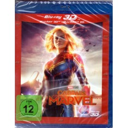 Captain Marvel - 3D BluRay...