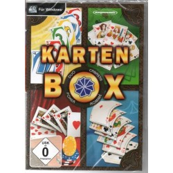 Karten Box - Canasta Romme...