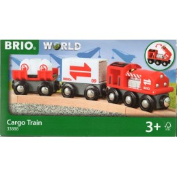 BRIO 33888 - Güterzug mit...