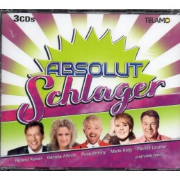 Absolut Schlager - Various...