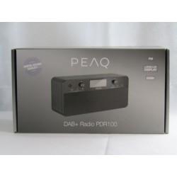 PEAQ PDR100 - DAB+ Radio -...